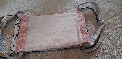 平面布マスクの内側はガーゼ
