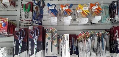 ブラジルの手芸用品店