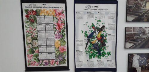 カネボウブラジル布カレンダー